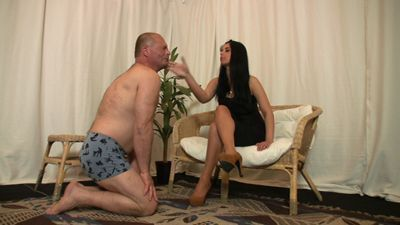 Mistress Letti and her slave